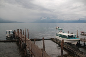 Boat Dock at Lake Atitlan