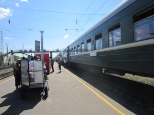Footcart on Trans-Siberian Railway