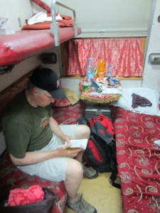 Room 2 Cabin on Trans-Siberian Railway