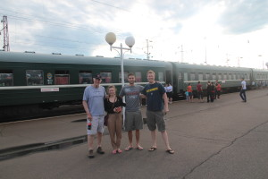Bunkmates on Trans-Siberian Railway