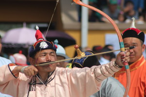 Archery at Naadam