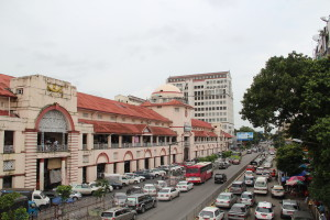 Indian Quarter in Yangon