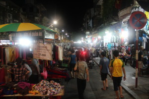 Nightmarket in Hanoi