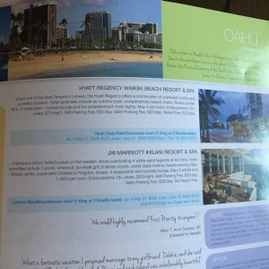 Wyndham Vacation Ownership - Oahu (Hawaii) - 4 free airline tickets
